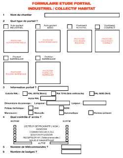 Z Formulaire portail INDUSTRIEL-COLLECTIF HABITAT