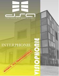 2 Depliant Interphonie VISIOPHONIE